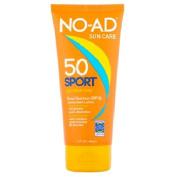 NO-AD Sun Care Sport Sunscreen Lotion, SPF 50, 150ml
