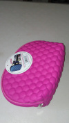 "INSTYLE BUMPBAG COSMETIC BAG ""STUNING GOOD LOOKS AND SO PRACTICAL!"" colour PINK"