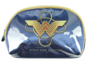 Wonder Woman Blue Cosmetics Bag