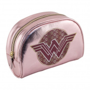 Wonder Woman Pink Cosmetics Bag