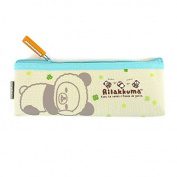 San-x Panda Costume Rilakkuma Canvas Pencil Case School Supply stationery Pouch