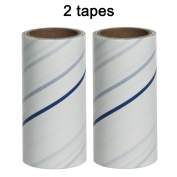 Lint Roller CICI & SISI Sticky Lint Roller with 2 Refills 120 Total Sheets