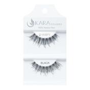 Kara Beauty Human Hair Eyelashes - D-WISPY