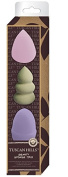 Tuscan Hills 3 Piece Beauty Blending Makeup Sponge Set
