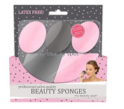 My Beauty Spot Professional Salon Quality Latex Free Beauty Sponges With Reusable Container