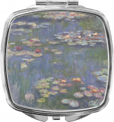 Water Lilies by Claude Monet Compact Makeup Mirror