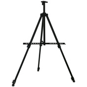 Transon Tripod Aluminium Table and Floor Easel 170cm Lightweight Adjustable with Portable Bag (Black)