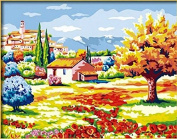 DIY Oil Painting for Adults Kids Paint By Number Kit Digital Oil Painting Chinese style landscape 41cm x 50cm