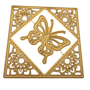 Butterfly Metal Cutting Dies Einfachheit Embossing Scrapbooking DIY Album Card Paper Stencil For Flower Card Frame Paper Scrapbook Card Album Craft Decoration