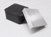 5.1cm RUBBER & STEEL BLOCK BENCH ANVIL 2Pc COMBO jewellery STAMPING FORMING DAPPING (11 E) NOVELTOOLS