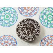 Blockwallah Block Stamp-Temple Mandala