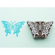 Blockwallah Block Stamp-Wispy Butterfly