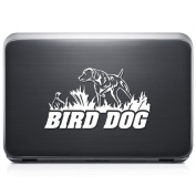 Bird Dog Hunting REMOVABLE Vinyl Decal Sticker For Laptop Tablet Helmet Windows Wall Decor Car Truck Motorcycle - Size (05 Inch / 13 Cm Wide) - Colour
