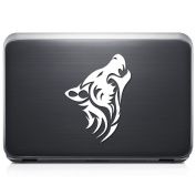 Tribal Art Wolf Animal Pack REMOVABLE Vinyl Decal Sticker For Laptop Tablet Helmet Windows Wall Decor Car Truck Motorcycle - Size (07 Inch / 18 Cm Tall) - Colour