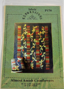 Almost Amish Coinflowers by Fabric Expressions Quilt Pattern
