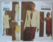 Vogue Pattern V2909 - Misses Petite Jacket, Top, Dress, Skirt and Pants