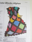 Colour Blocks Afghans Craft Pattern