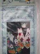 Vests Birdhouse & Sunflowers Craft Pattern
