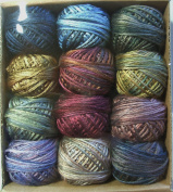 Valdani Luxury Silk Floss Primitive Silks 6 Strand Thread Hand-dyed 12 Spool VAK1004