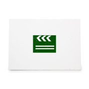 Clapperboard Action Direct Film Hollywood Style 8438, Rubber Stamp Shape great for Scrapbooking, Crafts, Card Making, Ink Stamping Crafts