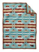 Pendleton Chief Joseph Crib Blanket - Aqua