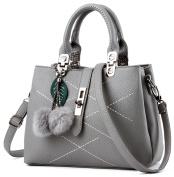 EssVita Stylish Women Pu Leather Bags Top Handle Handbags Office Lady Shoulder Bags for Women