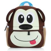 Hotrose Children Bag Kindergarten Cartoon Backpack Animal Pattern Rucksack for Toddler Boys and Girls