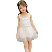 Kingko® Vogue Girl's Dress Flower Girl Summer Princess Dress Kid Baby Party Wedding Lace Tulle Tutu Dresses