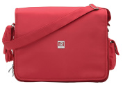 Ryco Deluxe Everyday Messenger Bag, Red