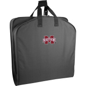 WallyBags Mississippi State Bulldogs 40 Suit Length Garment Bag, Black Mst