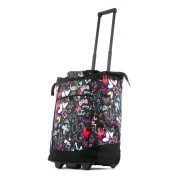 Olympia Fashion Rolling Shopper Tote BF, Butterfly, One Size