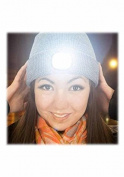 Beamie the Beanie Led Hat ~ Grey