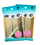"Foli - EYELID TAPE ""pretty size"" (M) - Eyelid Lifting without Surgery [2x60 Pairs] - Double Pack"