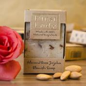First Lady - Handmade Almond Rose Jojoba Blemish Soap 125g