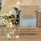 First Lady - Handmade Avocado Peppermint Tea Tree Vitamin E Acne Soap 125g