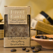 First Lady - Handmade Coffee Cocoa Butter Ylang Ylang Sensitive Soap 125g