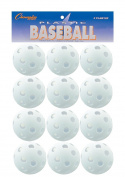 Champion Sports White Plastic Baseball Set