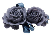 So Beauty Women's Flowers Hair Barrette Clip Accessory