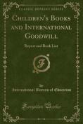 Children's Books and International Goodwill