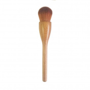 Coshine B45 Professional Luxury 100% Original Walnut Handle Synthetic Hair Blusher Foundation Makeup Brush