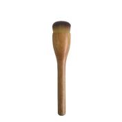 Coshine B46 Professional Luxury 100% Original Walnut Handle Synthetic Hair Liquid Foundation Cream Makeup Brush