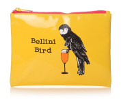 Casey Rogers Party Animals Bellini Bird Yellow Cosmetics Make Up Wash Bag Novelty Design