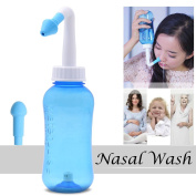Xcellent Global 300ml Nasal Wash Cleaner Nasal Irrigation Sinus Rinse Nose Care for Adult and Children Allergic Rhinitis Treatment HG197