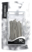 Basicare Kirby Grips Bobby Pins, Small, 5 cm, Brown, Pack of 30