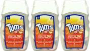 Tums Indegestion Relief Fruit Antacid 75 Tablets x 3 Packs