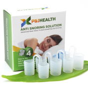 P & J Health - Anti Snoring Solution, Snore Stopper, advanced Nose Vents To Ease Breathing and Snoring(New)