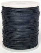 Maine Thread - Blue Bird 2mm Navy Polished Braided Cotton Cord. 100 metres per spool. Includes 1 spool.