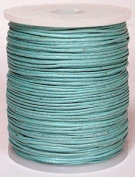 Maine Thread - Blue Bird 1mm Pacific Polished Braided Cotton Cord. 100 metres per spool. Includes 1 spool.
