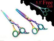 Extreme Sharp Professional Hairdressing Hair Cutting Scissors Thinner Shears Set 15cm + Free Gift Shears