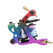 Anself Pro Tattoo Machine Gun Shader Liner 10 Wrap Coils